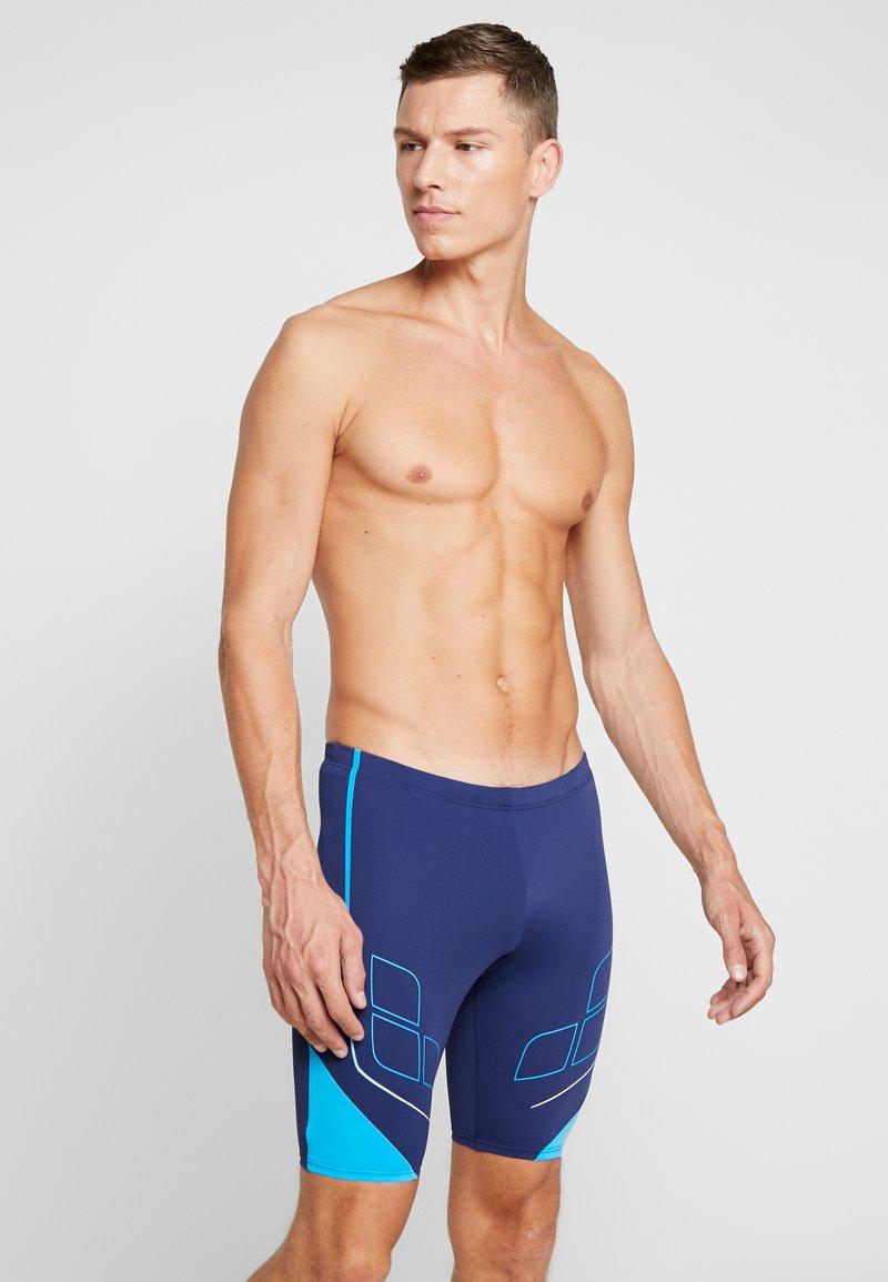 Arena - DESTINY JAMMER - Swimming trunks - navy/turquoise