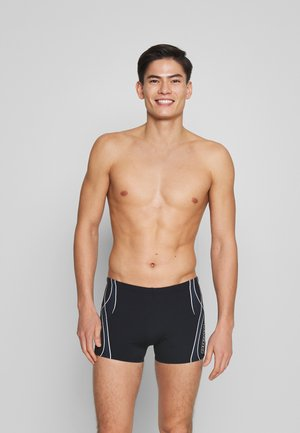 CROSSROAD SHORT - Costume da bagno - black/shark