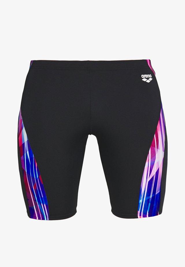 SHADING PRISM JAMMER - Swimming trunks - black/multi