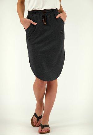 HOLLYAK  - A-line skirt - black
