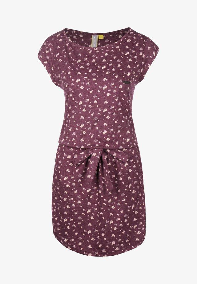 THEA W - Korte jurk - grape