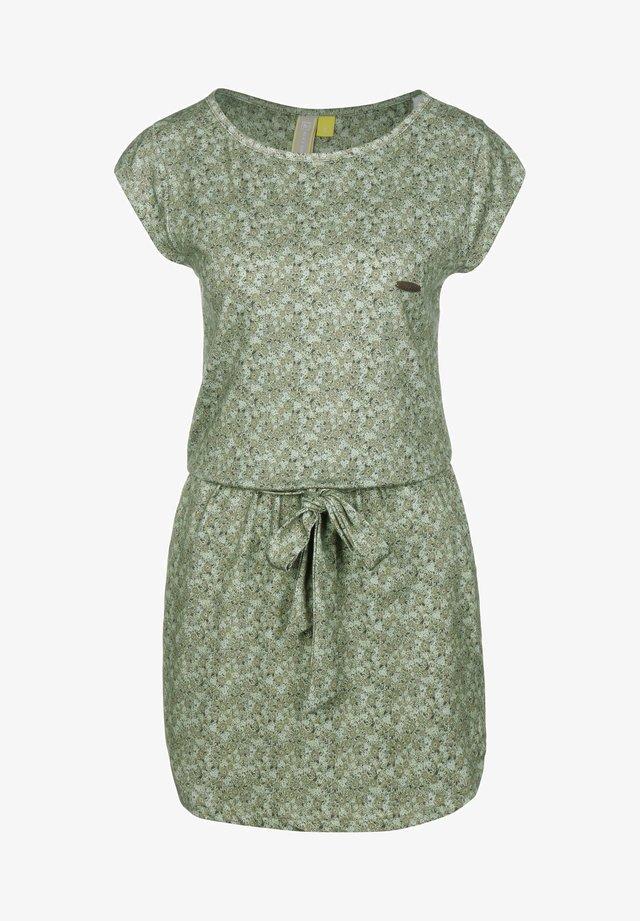 THEA W - Korte jurk - green
