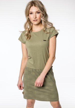 SHANNA - Jersey dress - olive