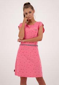 alife & kickin - ELLIAK - Day dress - salmon - 0