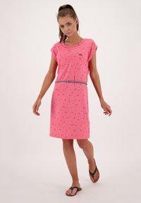 alife & kickin - ELLIAK - Day dress - salmon - 1