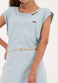 alife & kickin - ELLI LONGAK - Jersey dress - ice - 4