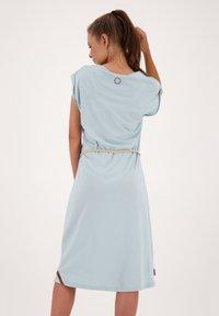 alife & kickin - ELLI LONGAK - Jersey dress - ice - 2