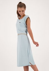 alife & kickin - ELLI LONGAK - Jersey dress - ice - 3