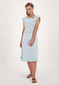 alife & kickin - ELLI LONGAK - Jersey dress - ice - 1