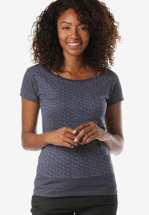 REGULAR FIT - Print T-shirt - blue