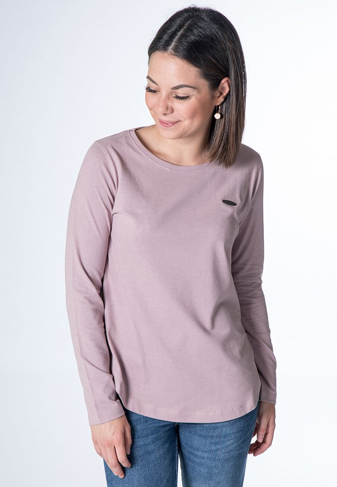 alife & kickin - LEA  - Langarmshirt - lavender