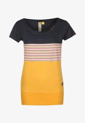Print T-shirt - amber