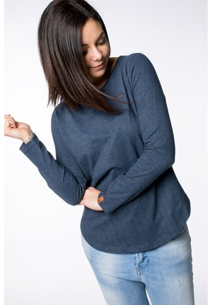 LEA W - Long sleeved top - Navy