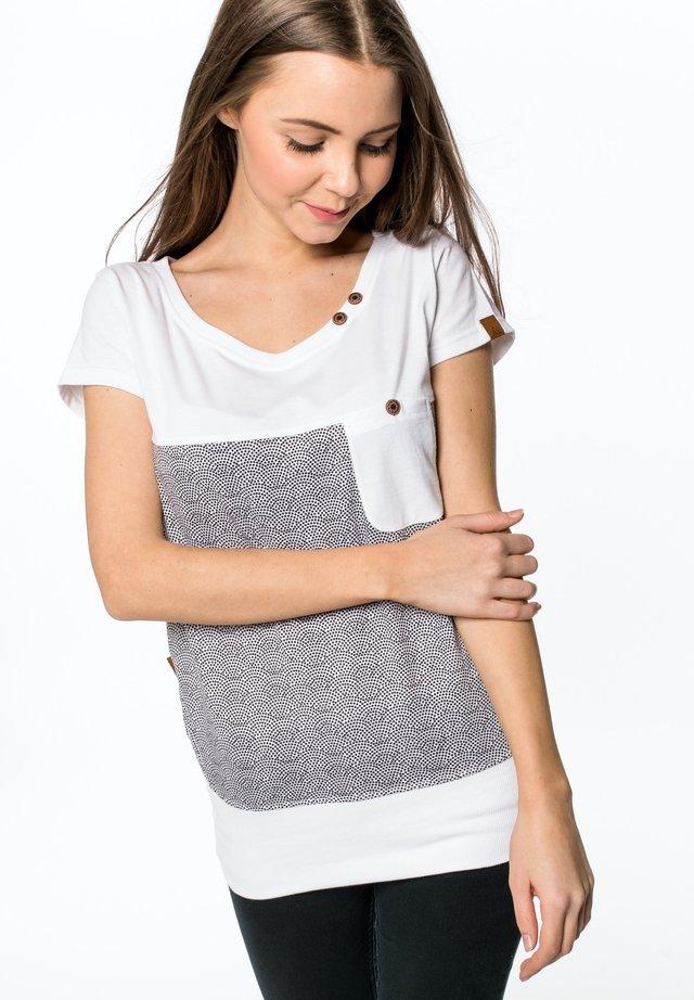 Print T-shirt - cloudy