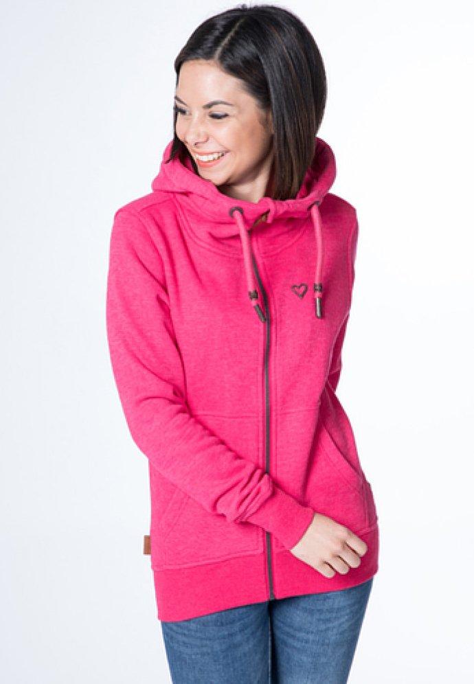 alife & kickin - YASMIN  - Zip-up hoodie - fuchsia