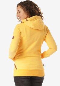alife & kickin - YASMIN  - Zip-up hoodie - yellow - 1