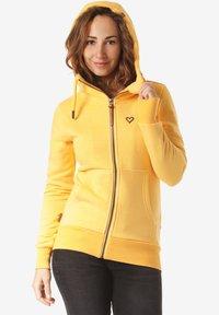 alife & kickin - YASMIN  - Zip-up hoodie - yellow - 2