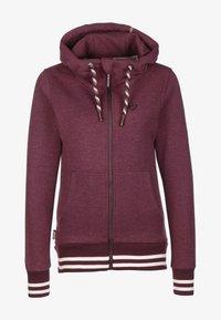 alife & kickin - YASMIN - Zip-up hoodie - grape - 0