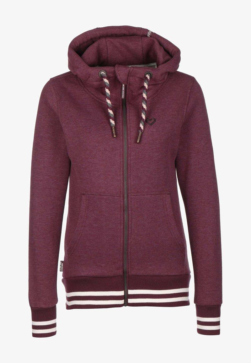 alife & kickin - YASMIN - Zip-up hoodie - grape