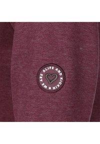 alife & kickin - YASMIN - Zip-up hoodie - grape - 2