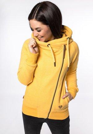 SNAKECHARMER - Zip-up hoodie - amber