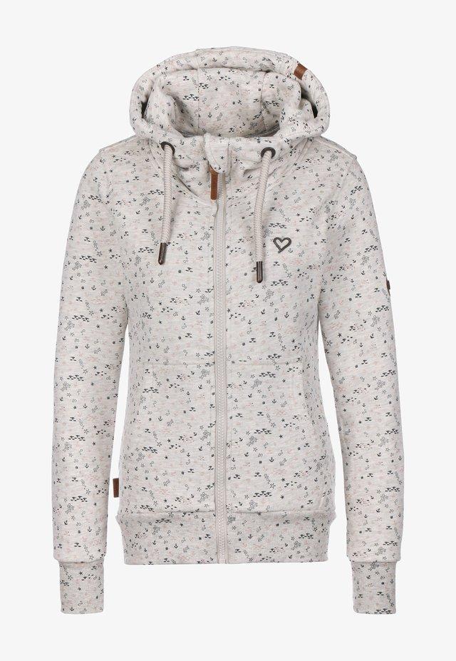 veste en sweat zippée - cloudy