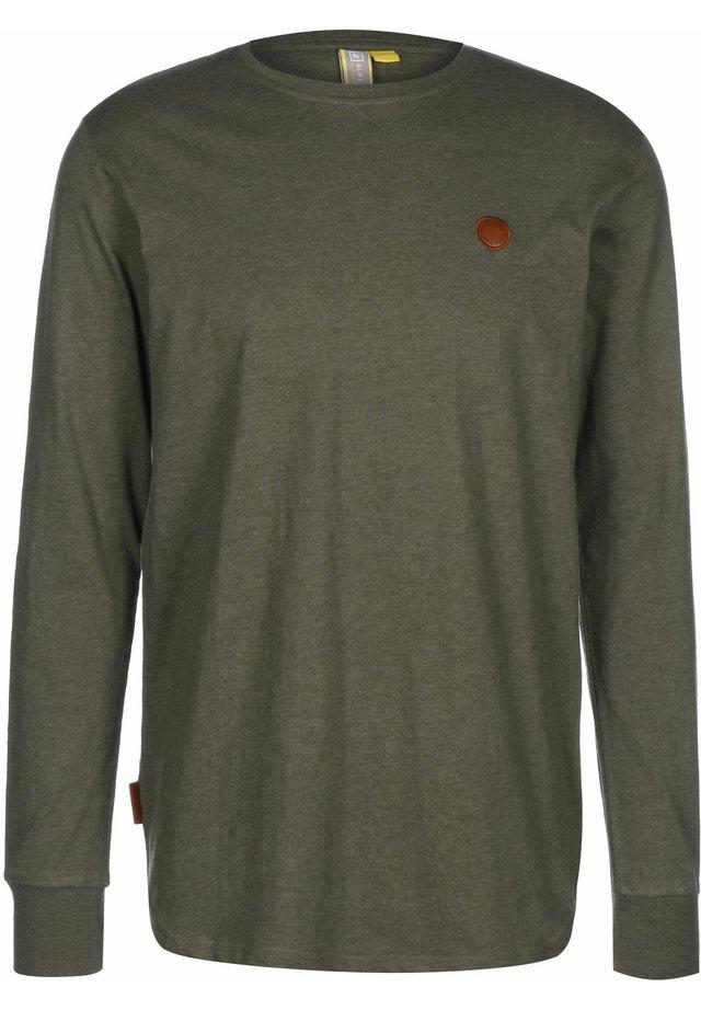 LONGSLEEVE ALEX - T-shirt à manches longues - stone