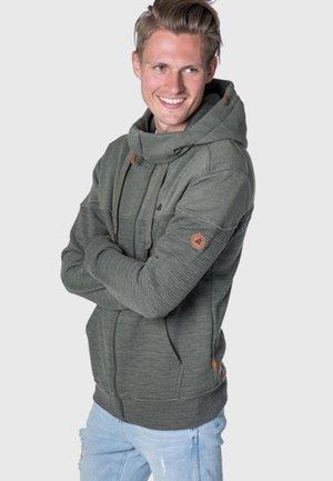 HURRICANE - Zip-up hoodie - gray