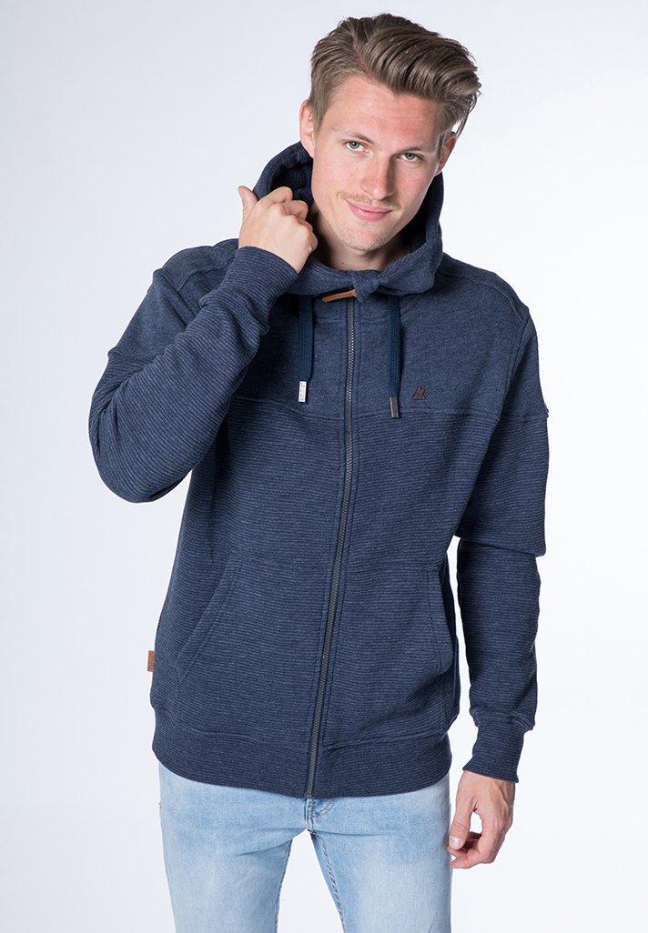 alife & kickin - HURRICANE - Zip-up hoodie - marine