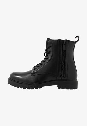 ARMY LACE UP - Bottines à lacets - nero
