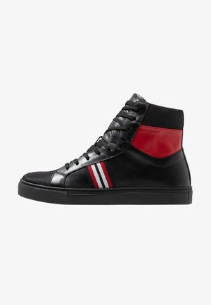 SKATE - High-top trainers - nero/rosso