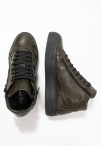 Antony Morato - ZIPPER - Sneakersy wysokie - verde militare - 1