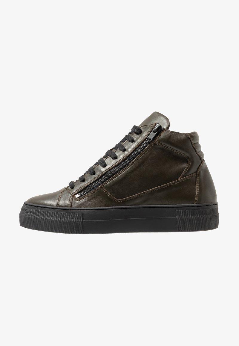 Antony Morato - ZIPPER - Sneakersy wysokie - verde militare