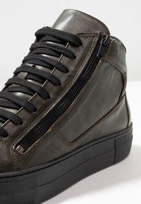 Antony Morato - ZIPPER - Sneakersy wysokie - verde militare - 5