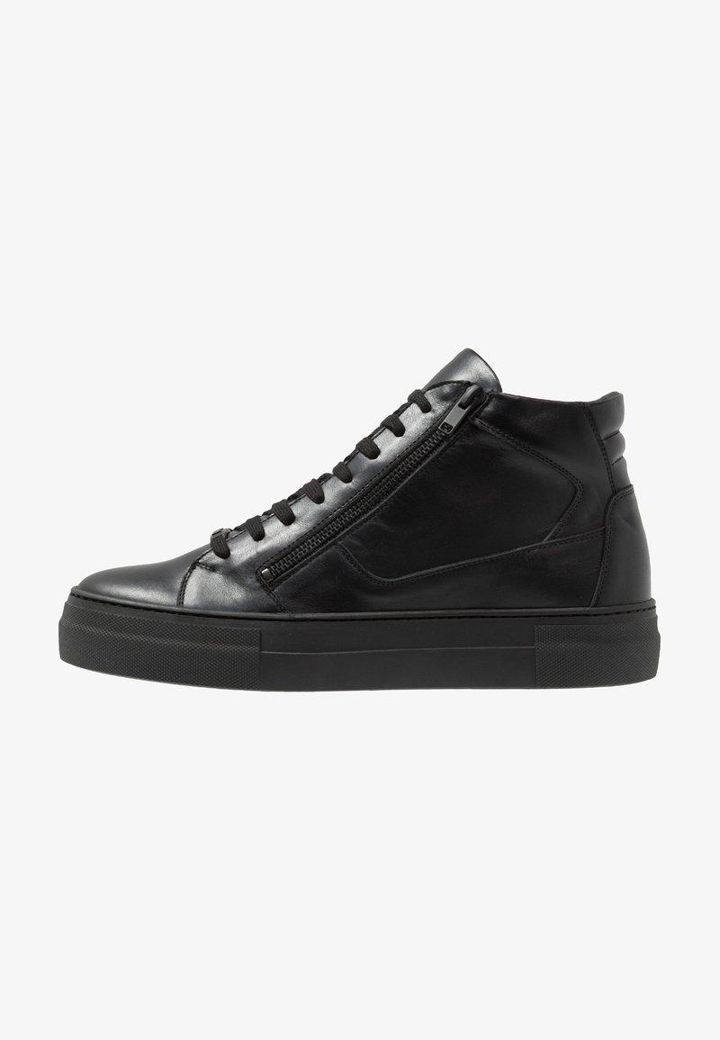 Antony Morato - ZIPPER - Sneakersy wysokie - nero