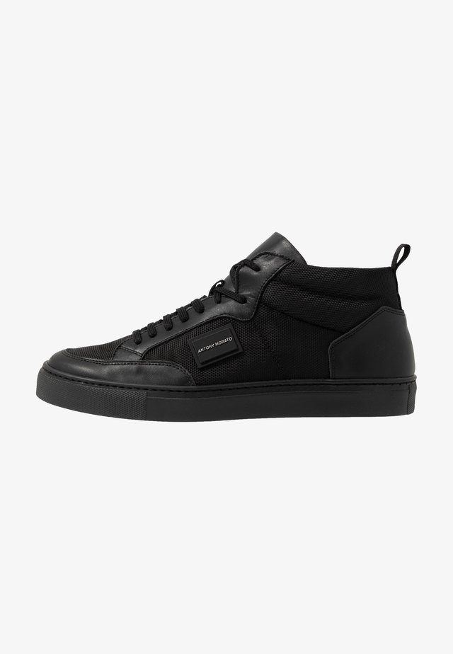 MID METAL - Sneakersy wysokie - black