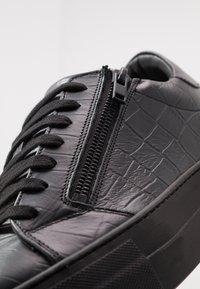 Antony Morato - ZIPPER - Sneakers basse - black - 5