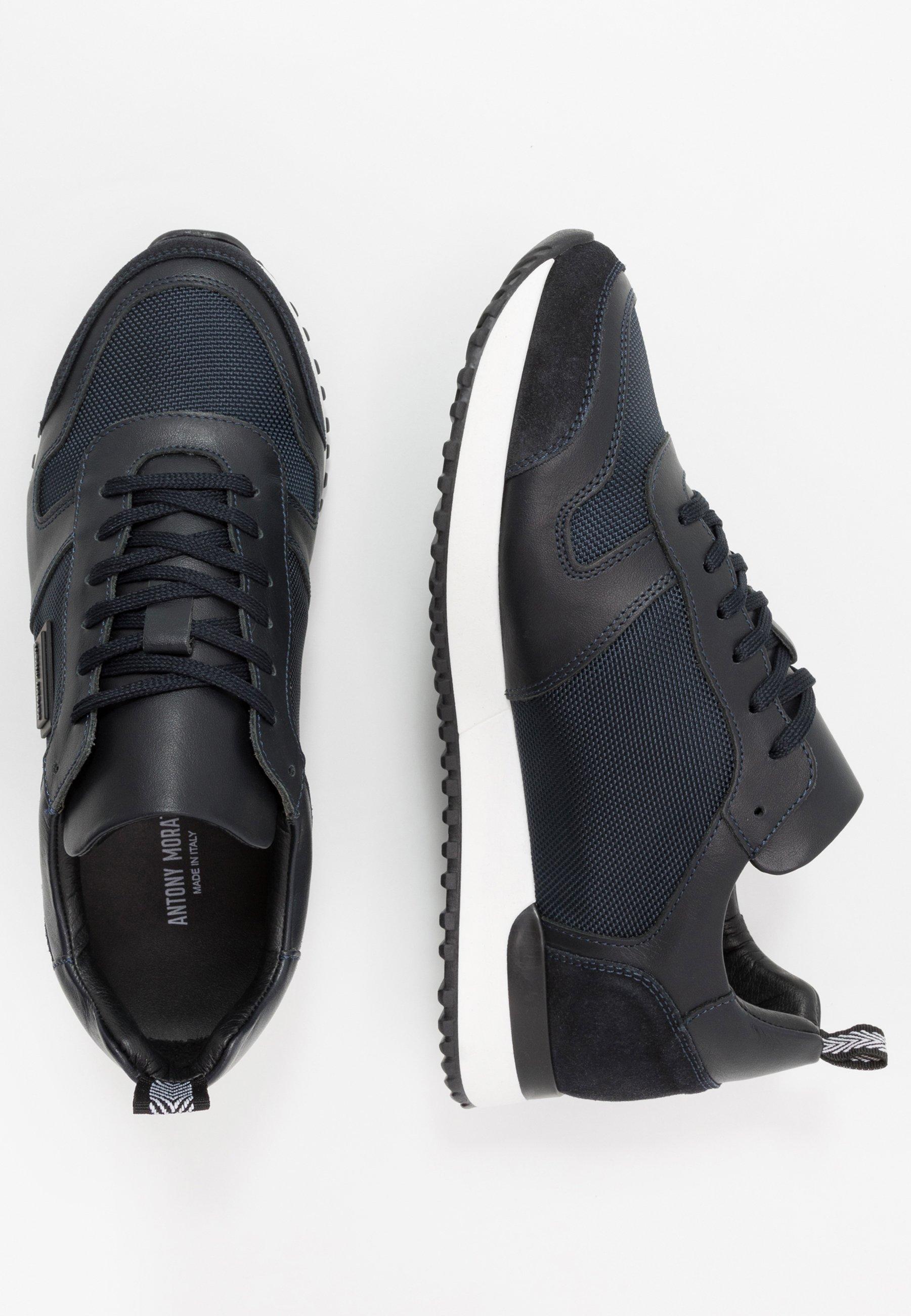 Antony Morato Run Metal - Sneakers Basse Ink Blu Scarpe Scontate