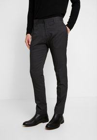 Antony Morato - SLIM JACKET BONNIE PANTS  - Kostuum - black - 4