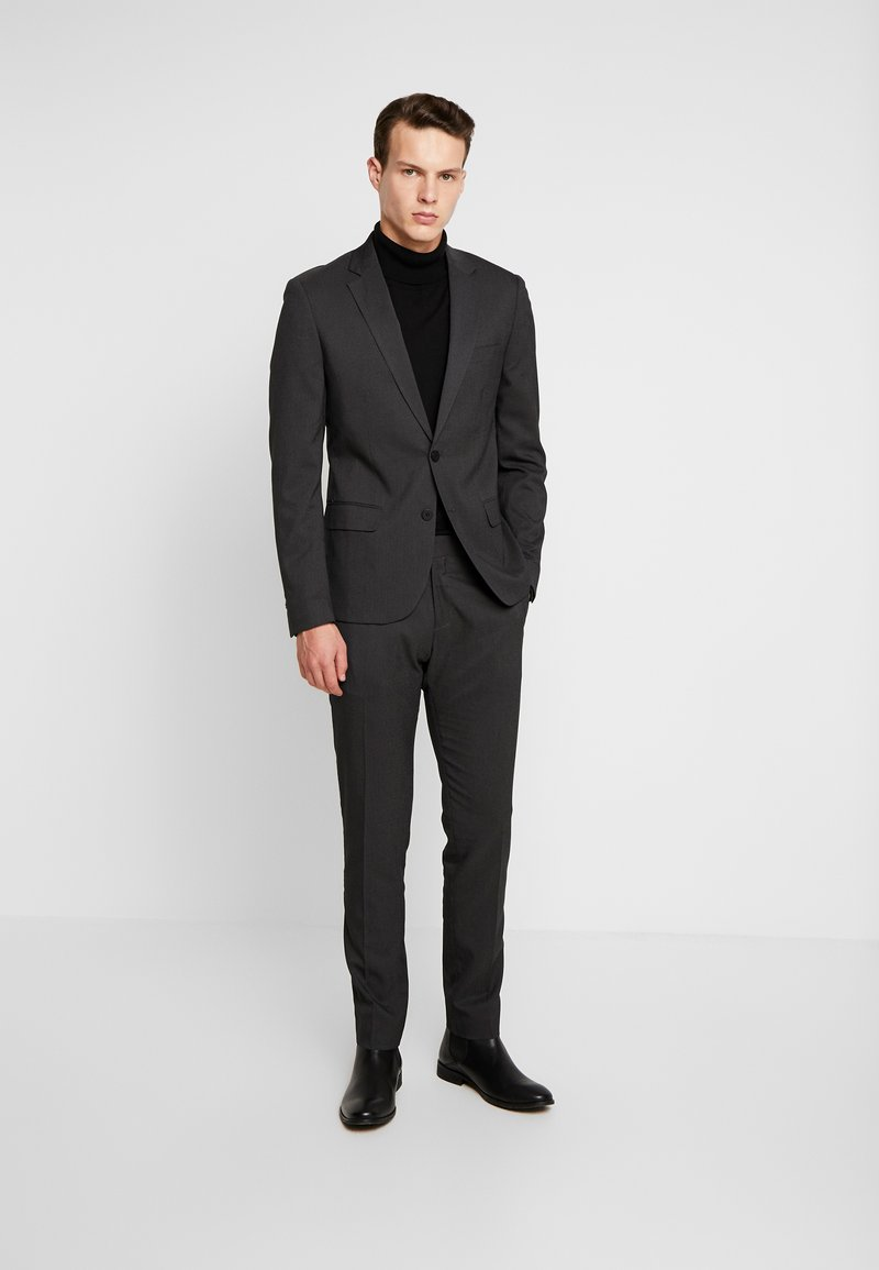 Antony Morato - SLIM JACKET BONNIE PANTS  - Kostuum - black