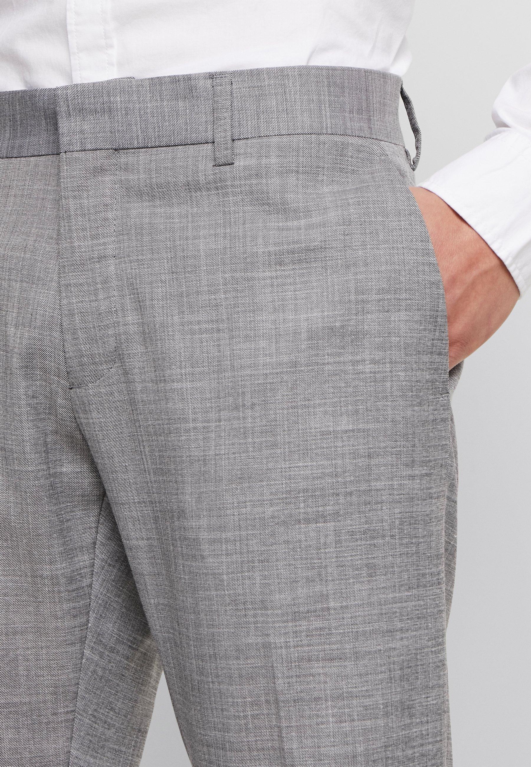 Antony Morato SLIM JACKET BONNIE PANTS - Garnitur - grey melange