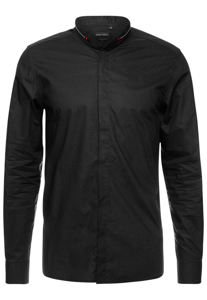 Antony Morato - ZIP AROUND COLLAR - Shirt - black