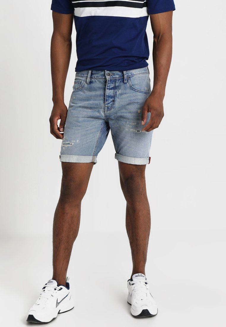 Antony Morato - BAART - Denim shorts - blue denim