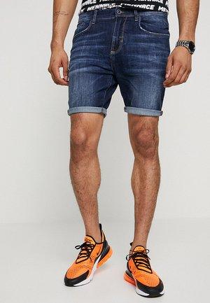 BARRET - Denim shorts - blue denim