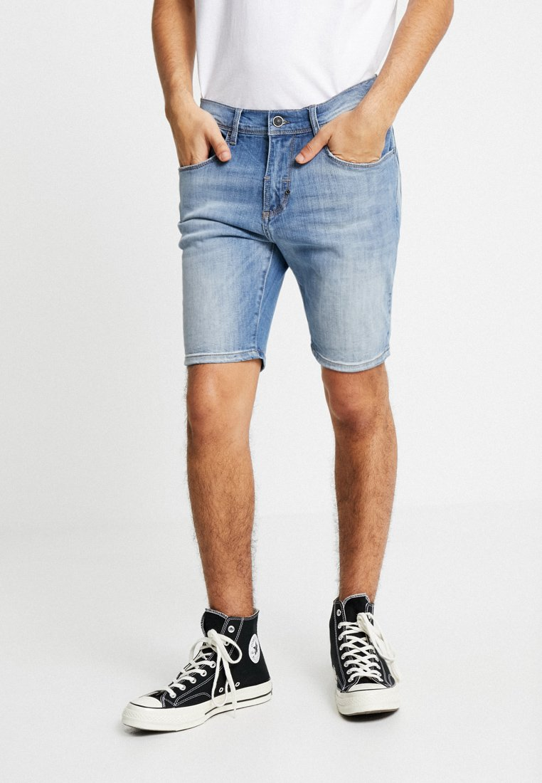 Antony Morato - BARRET - Denim shorts - blue denim