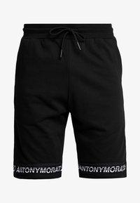 Antony Morato - SHORT PANT WITH LOGO TAPE - Pantaloni sportivi - black - 4