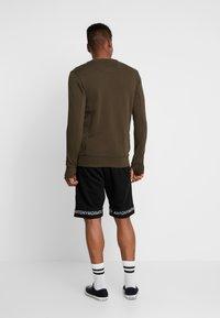Antony Morato - SHORT PANT WITH LOGO TAPE - Pantaloni sportivi - black - 2