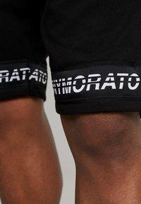 Antony Morato - SHORT PANT WITH LOGO TAPE - Pantaloni sportivi - black - 5