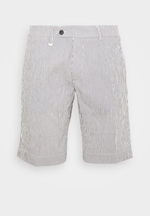 PANT BRYAN - Shorts - grey/white