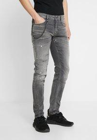 Antony Morato - IGGY - Jeans Tapered Fit - steel greey - 0